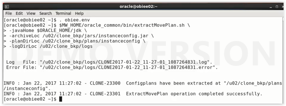 OBIEE Installation Part 8(Cloning of OBIEE) !!