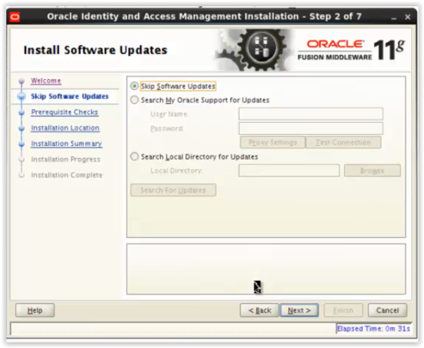 Oracle Access Manager 11g Installation (OAM series-Part2)
