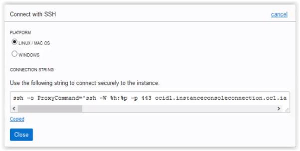 Adding Public SSH key in Oracle Cloud Infrastructure Gen 2 !!